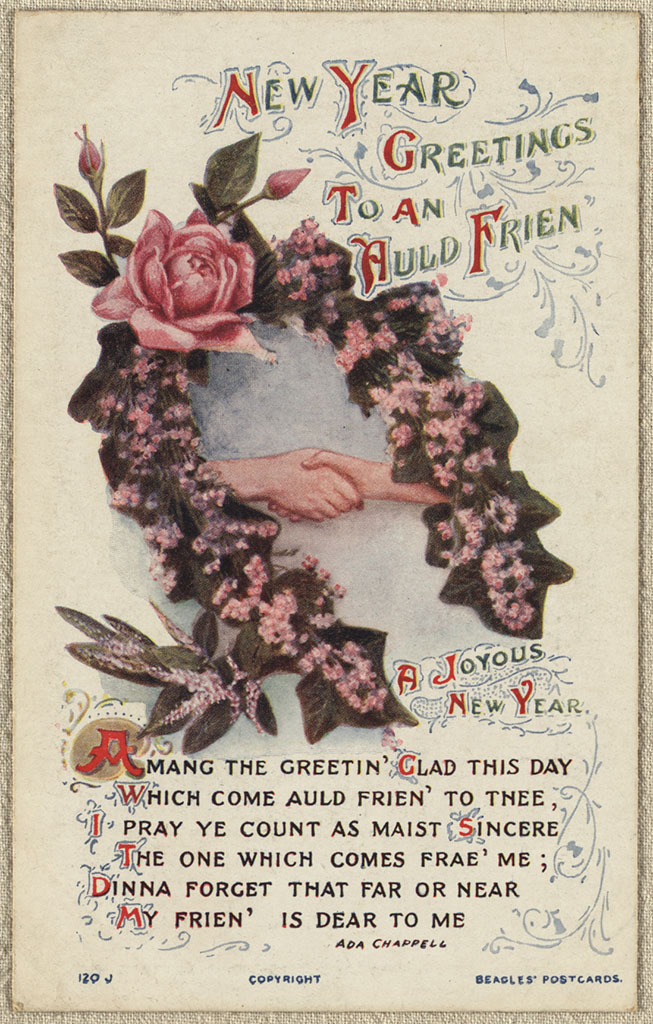 Thumbnail Image of New Year greetings to an auld frien'