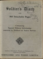 Cover of Soldier's Diary