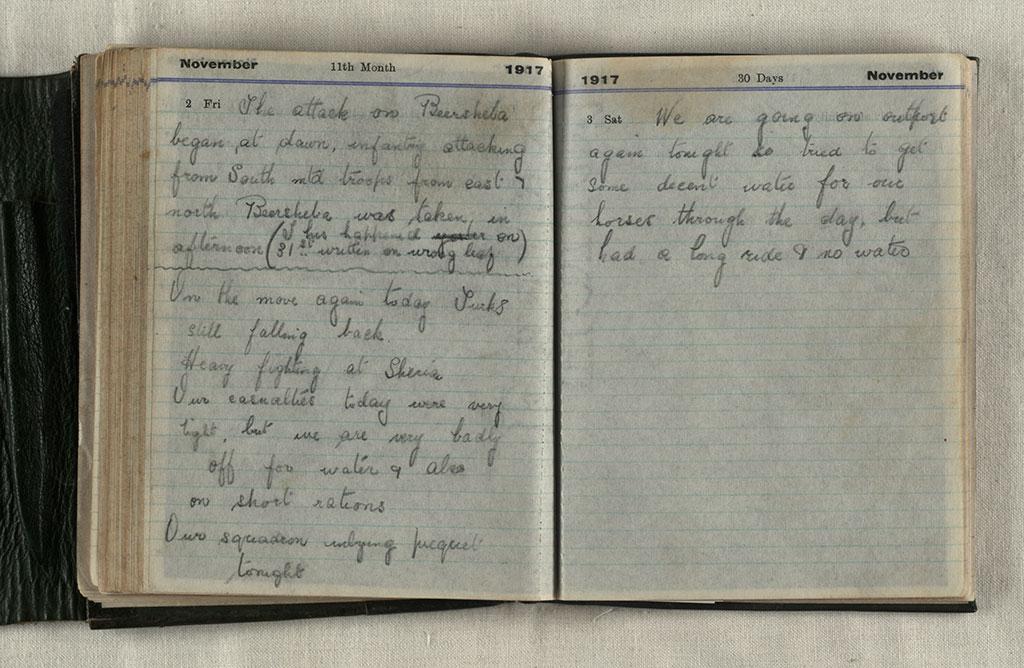 Edward Herbert Aubrey : Soldier's diary CCL-Aubrey-1917-109
