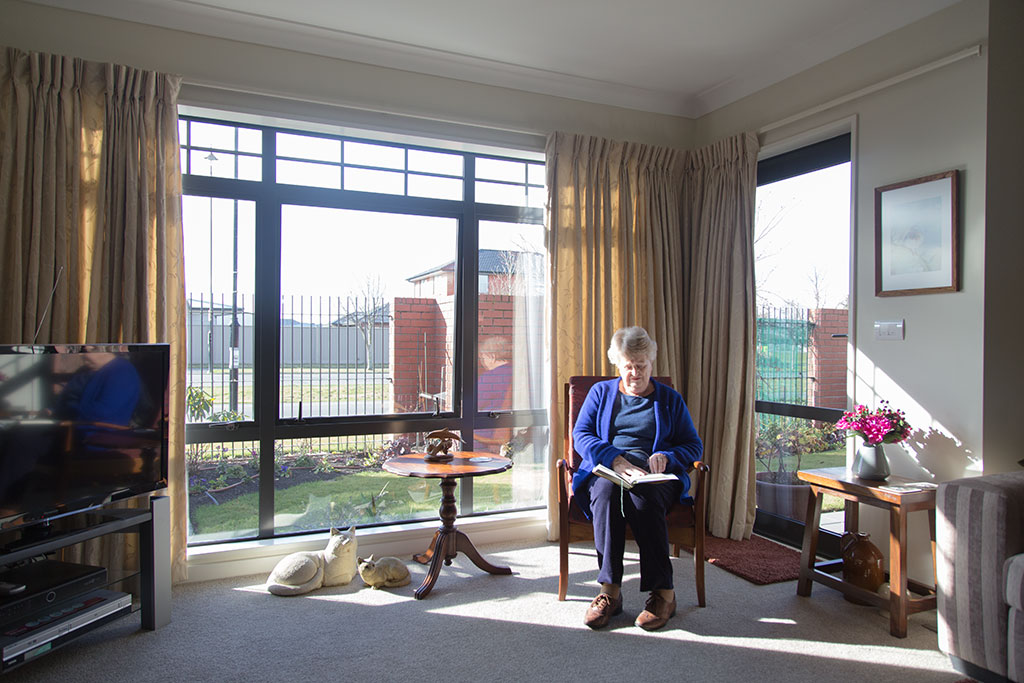 Thumbnail Image of Living room, retirement village town house in Aidanfield