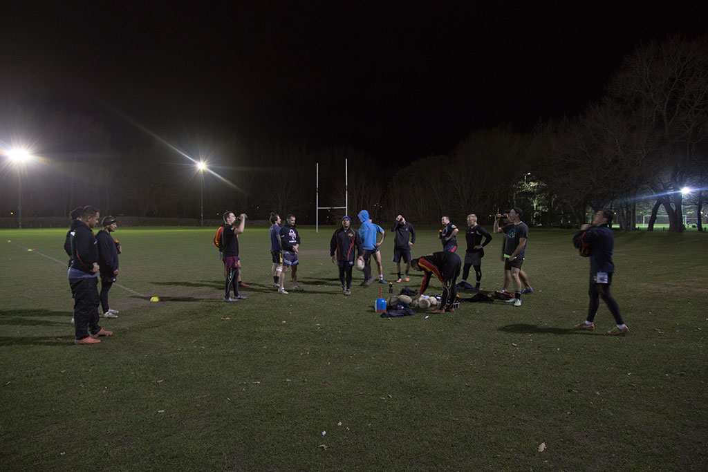 Thumbnail Image of Halswell Hornets Rugby League Club senior team, final practice
