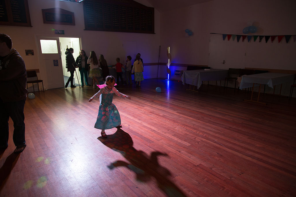 Thumbnail Image of A girl enjoying the beginning of the Halswell Winter Dance