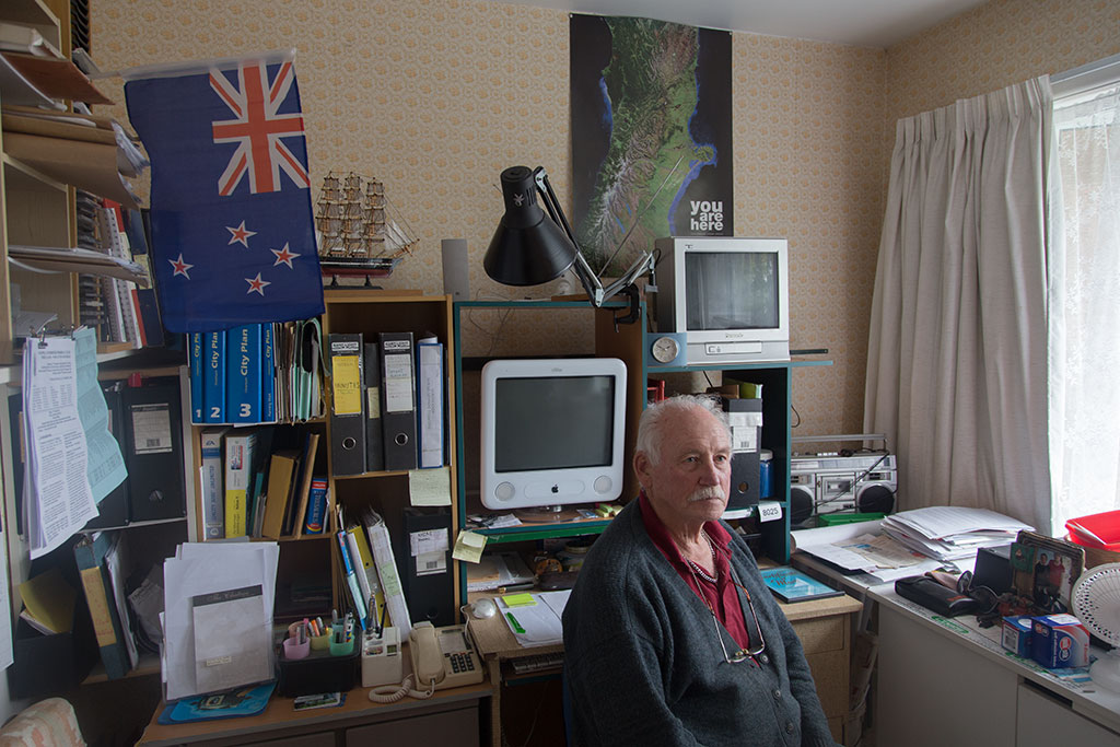 Thumbnail Image of Ron sitting in his home office