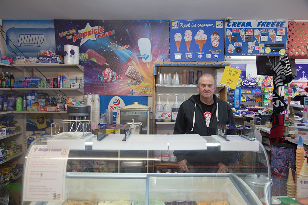 Thumbnail Image of Dairy owner, Brian, Halswell Road