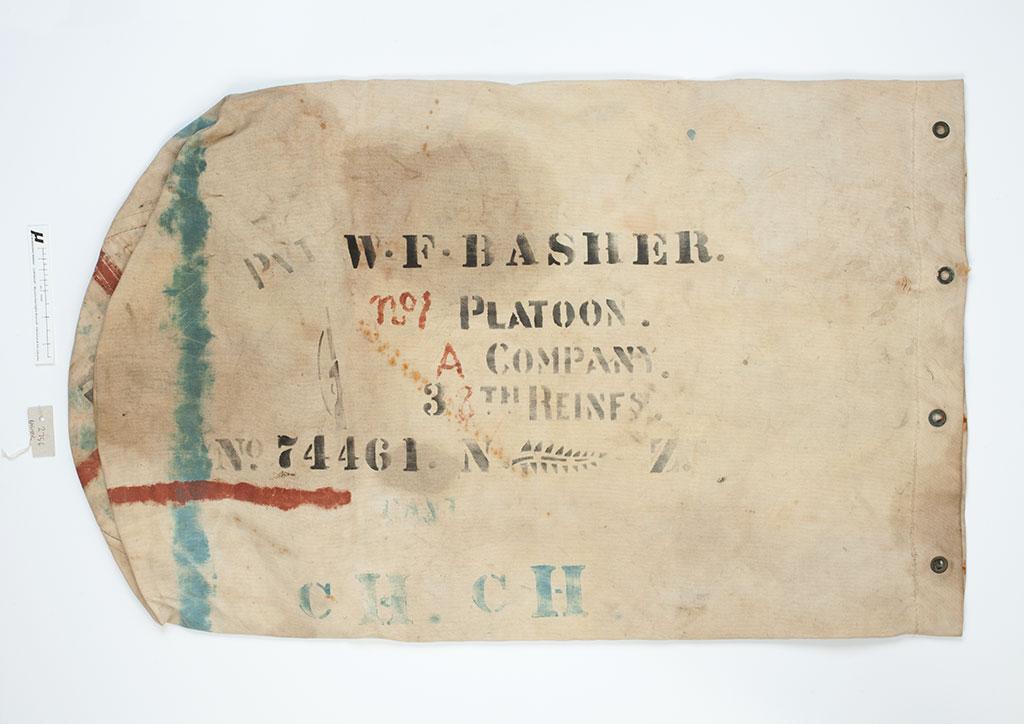 Kit bag, William Frank Basher. [circa 1910-1920] Barry O'Sullivan collection. CCL-OSullivan-2756-Kit-bag-001