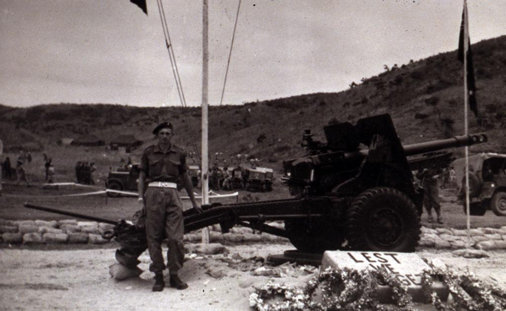 Image Of Anzac Day Korea 1952