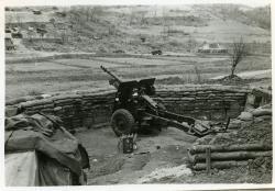 Gun position.